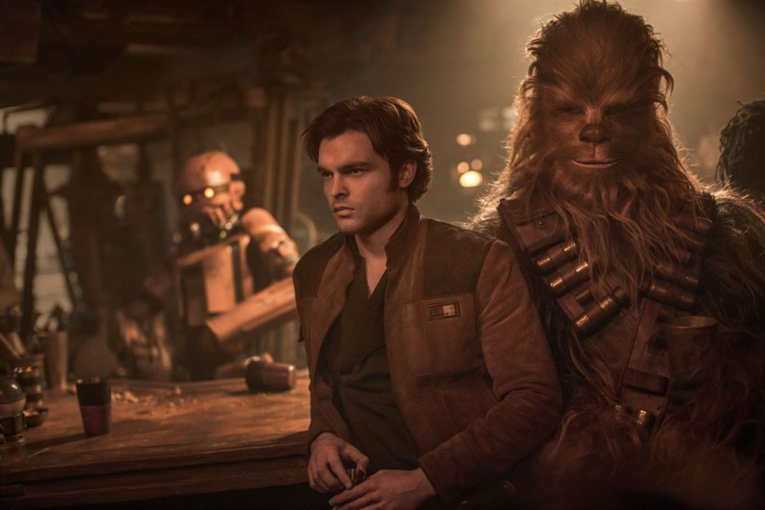 Han Solo: Uma História Star Wars : Foto Alden Ehrenreich, Joonas Suotamo