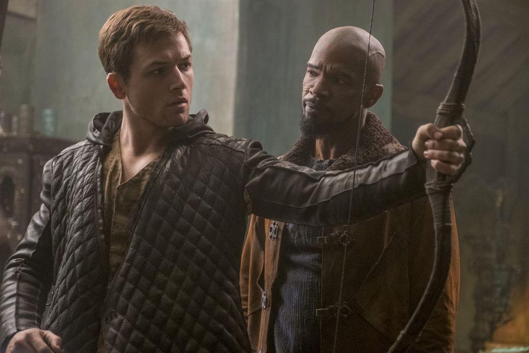 Robin Hood - A Origem : Foto Jamie Foxx, Taron Egerton