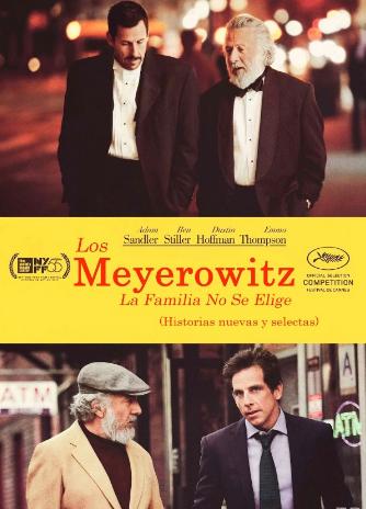 Os Meyerowitz: Família Não Se Escolhe : Poster