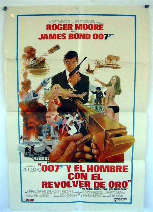 007 Contra o Homem com a Pistola de Ouro : Poster