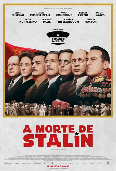 A Morte de Stalin : Poster