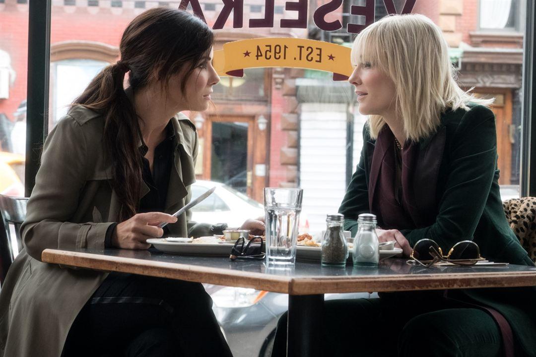 Oito Mulheres e um Segredo : Foto Cate Blanchett, Sandra Bullock