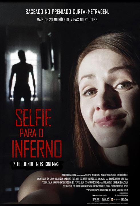 Selfie para o Inferno : Poster