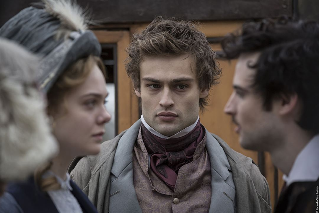 Mary Shelley : Foto Douglas Booth