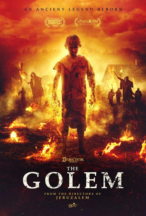 A Lenda de Golem : Poster