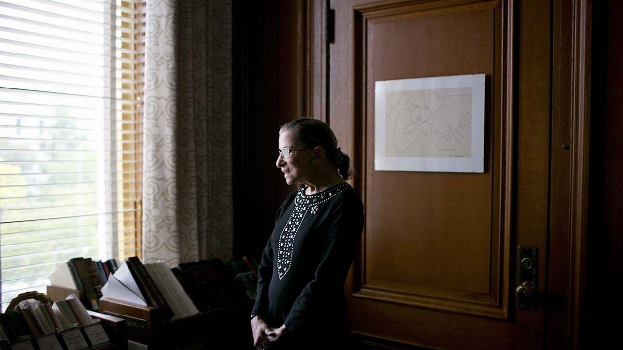 A Juíza : Foto Ruth Bader Ginsburg