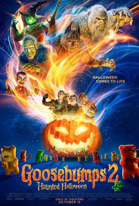 Resultado de imagem para Goosebumps - Halloween Assombrado