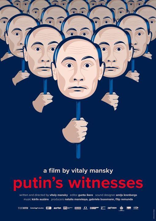 As Testemunhas de Putin : Poster
