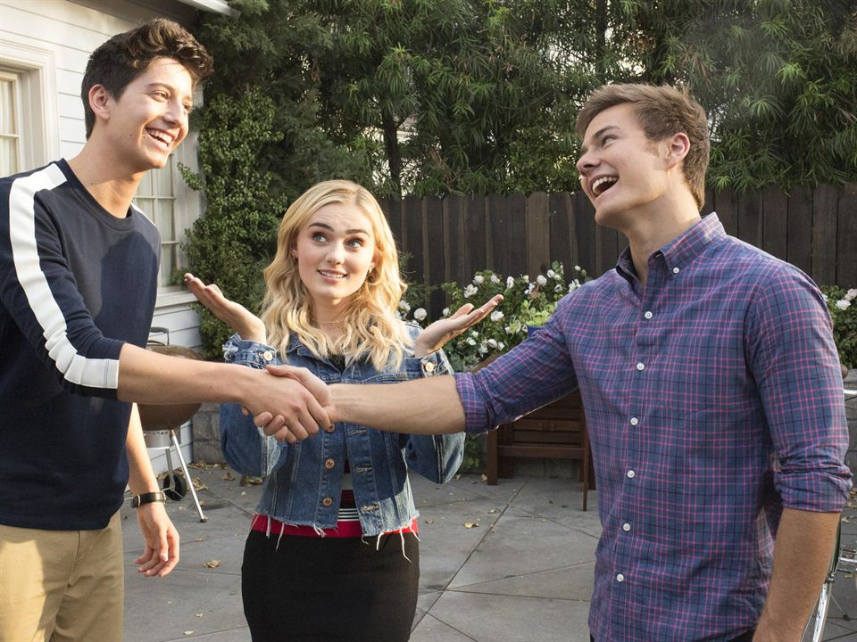 Foto Meg Donnelly, Milo Manheim, Peyton Meyer