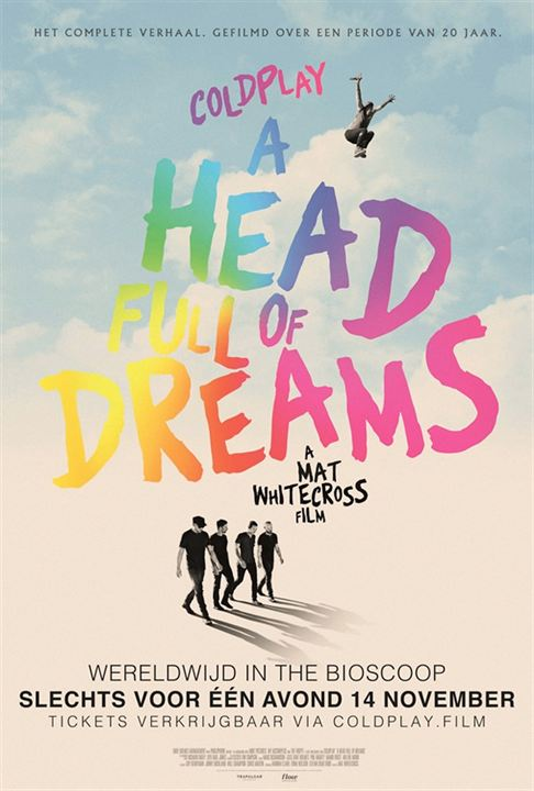 Coldplay: A Head Full of Dreams : Poster