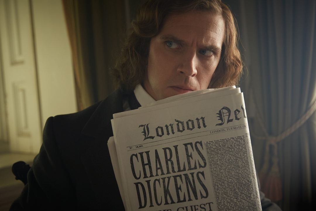 The Man Who Invented Christmas : Foto Dan Stevens