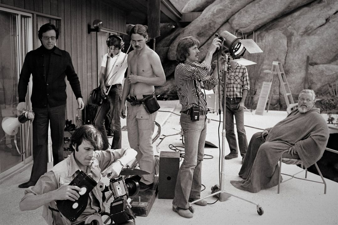They'll Love Me When I'm Dead : Foto Orson Welles, Peter Bogdanovich