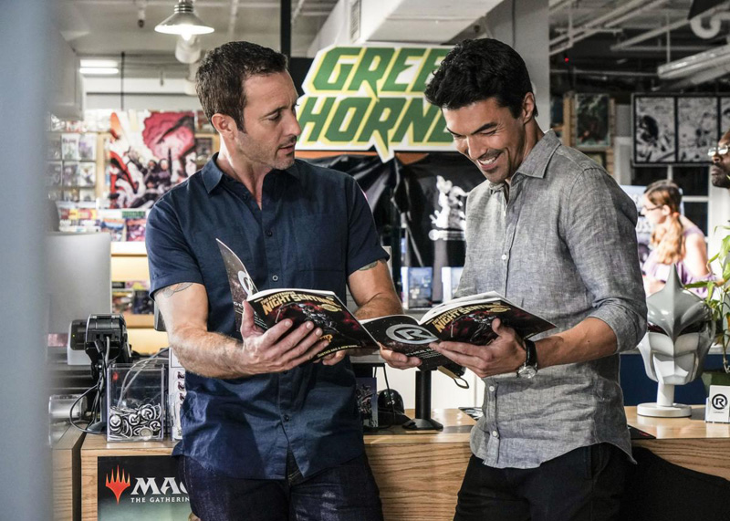 Foto Alex O'Loughlin, Ian Anthony Dale