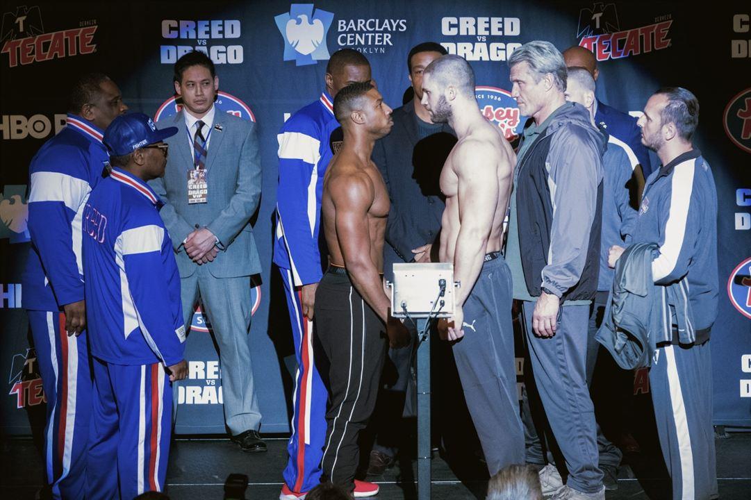 Creed II : Foto Dolph Lundgren, Florian Munteanu, Michael B. Jordan