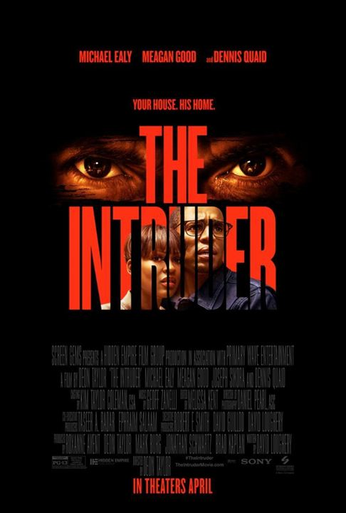 The Intruder : Poster