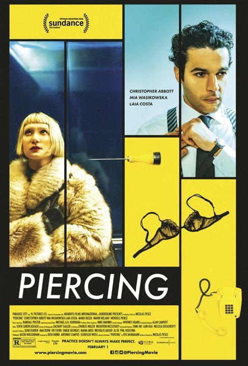 Piercing : Poster