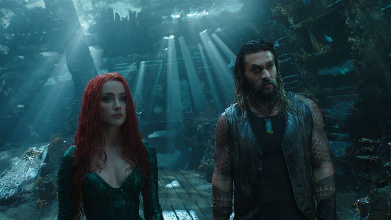 Aquaman : Foto Amber Heard, Jason Momoa