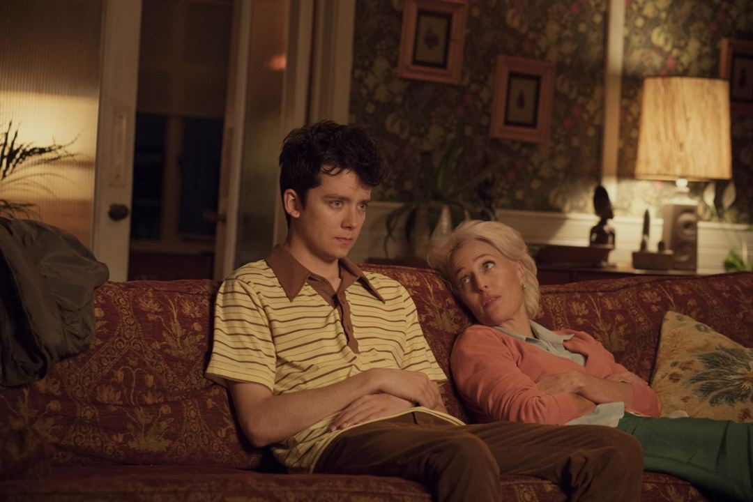 Sex Education : Foto Asa Butterfield, Gillian Anderson