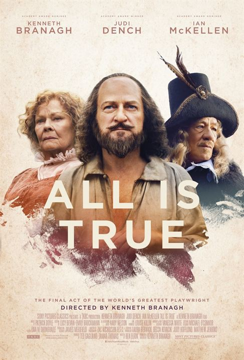 All Is True : Poster