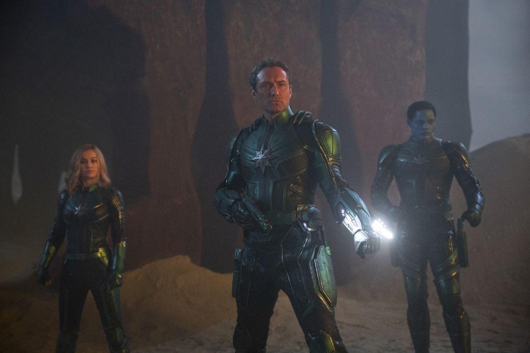 Capitã Marvel : Foto Algenis Perez Soto, Brie Larson, Jude Law