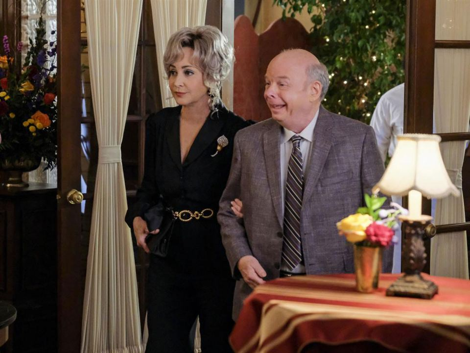 Foto Annie Potts, Wallace Shawn