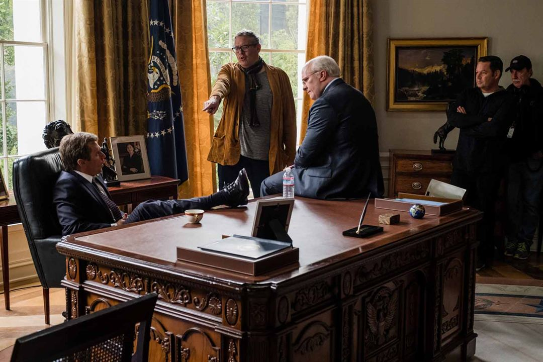 Vice : Foto Adam McKay, Christian Bale, Steve Carell