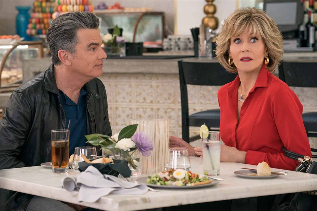 Foto Jane Fonda, Peter Gallagher