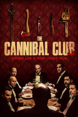 O Clube dos Canibais : Poster