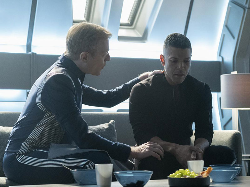 Foto Anthony Rapp, Wilson Cruz