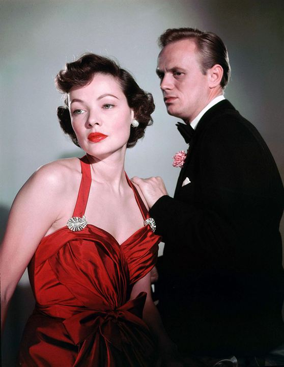 Night and the City : Photo Gene Tierney, Richard Widmark