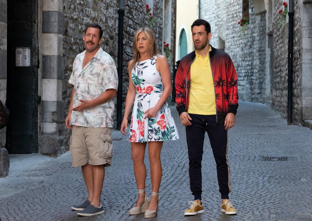 Mistério no Mediterrâneo : Foto Adam Sandler, Jennifer Aniston, Luis Gerardo Méndez