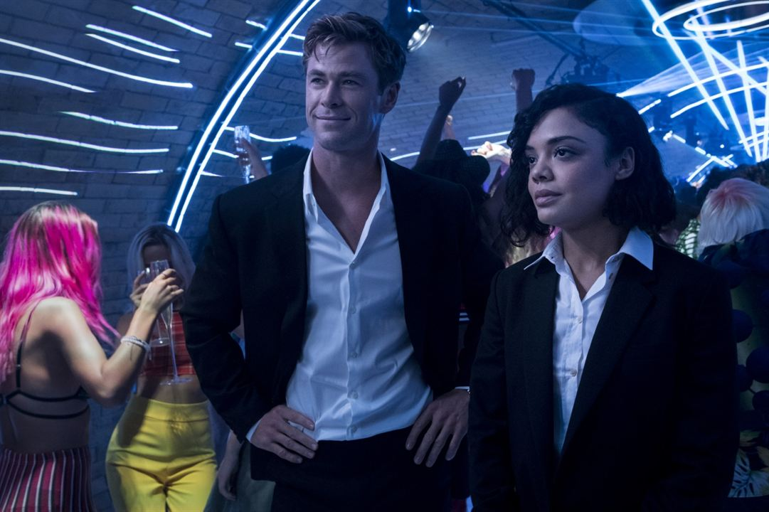 MIB: Homens de Preto – Internacional : Foto Chris Hemsworth, Tessa Thompson