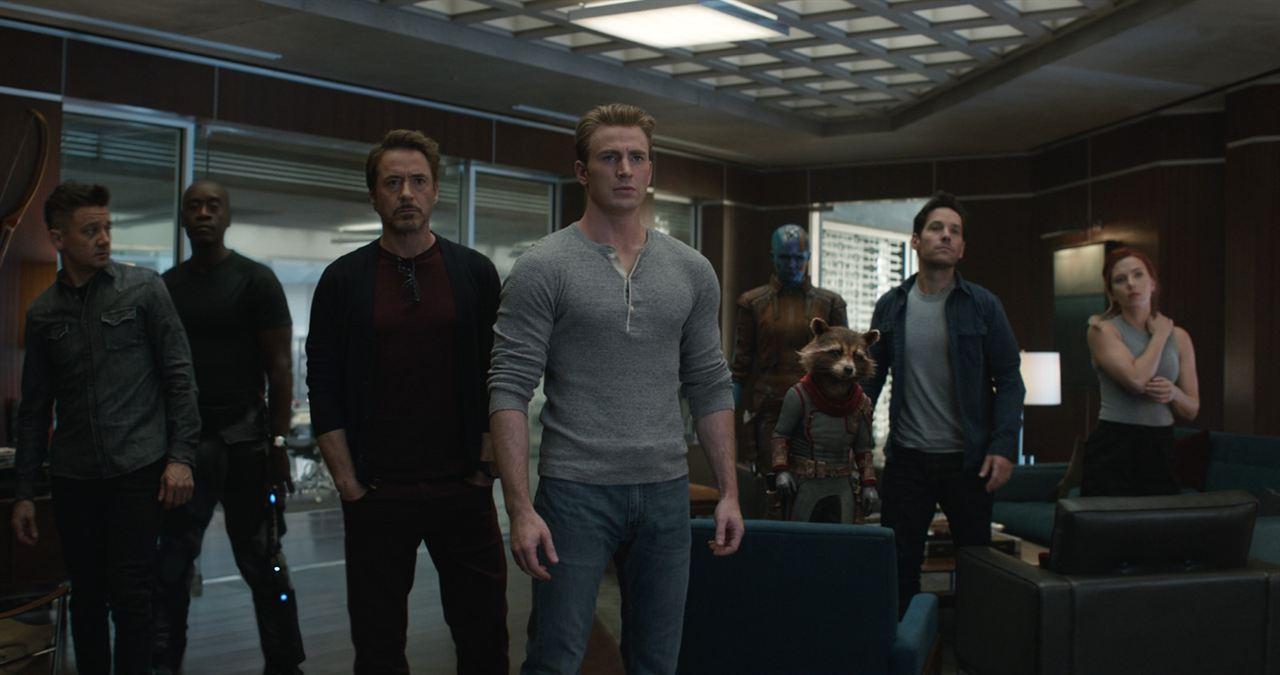 Vingadores: Ultimato : Foto Chris Evans, Don Cheadle, Jeremy Renner, Karen Gillan, Paul Rudd
