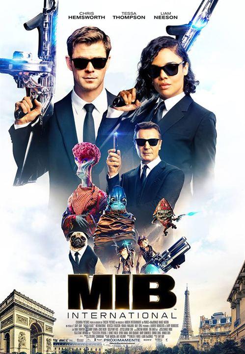 Mib Homens De Preto Internacional Poster Poster 7