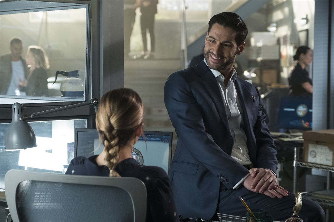 Foto Lauren German, Tom Ellis