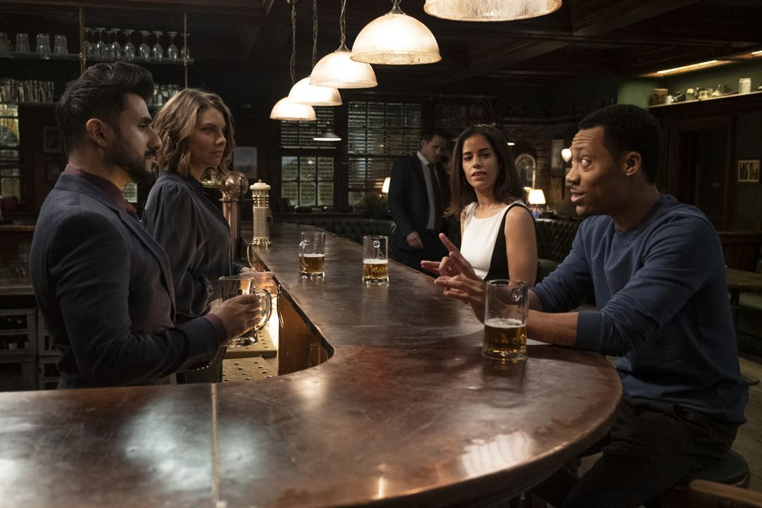 Foto Ana Ortiz, Lauren Cohan, Tyler James Williams