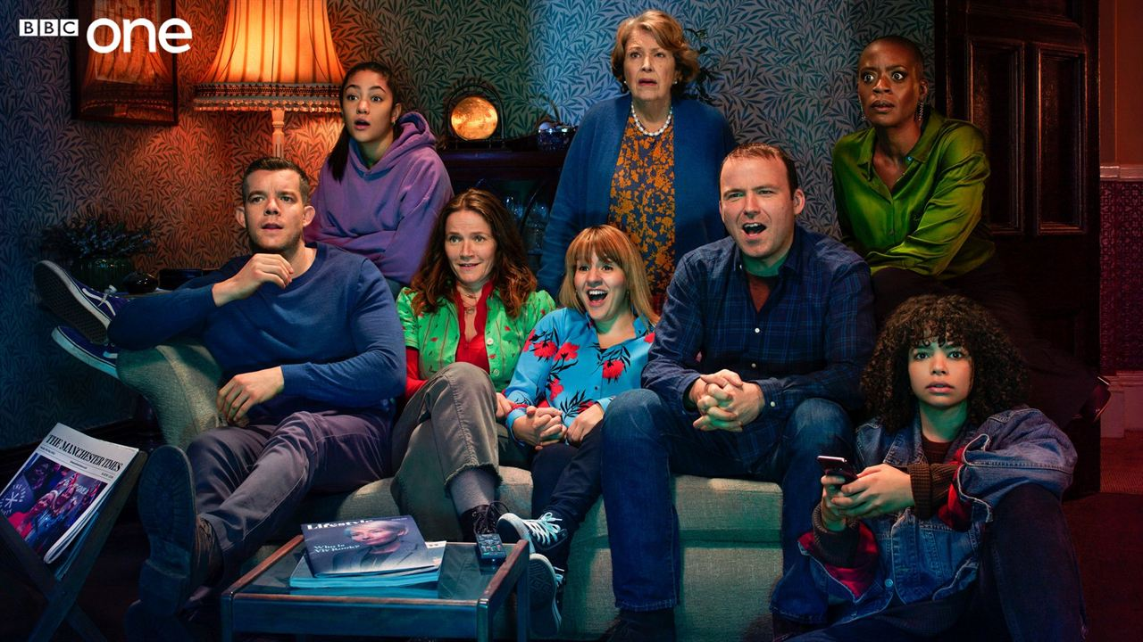 Foto Anne Reid, Jessica Hynes, Rory Kinnear, Russell Tovey, T'Nia Miller