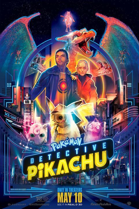 Pokémon: Detetive Pikachu : Poster