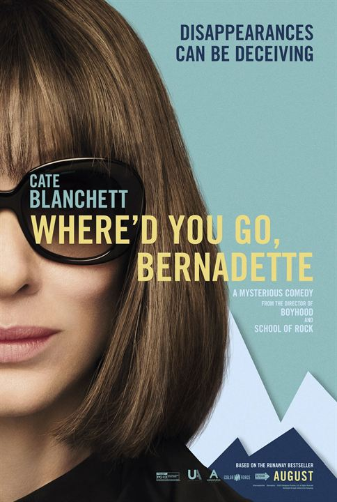 Cadê Você, Bernadette? : Poster