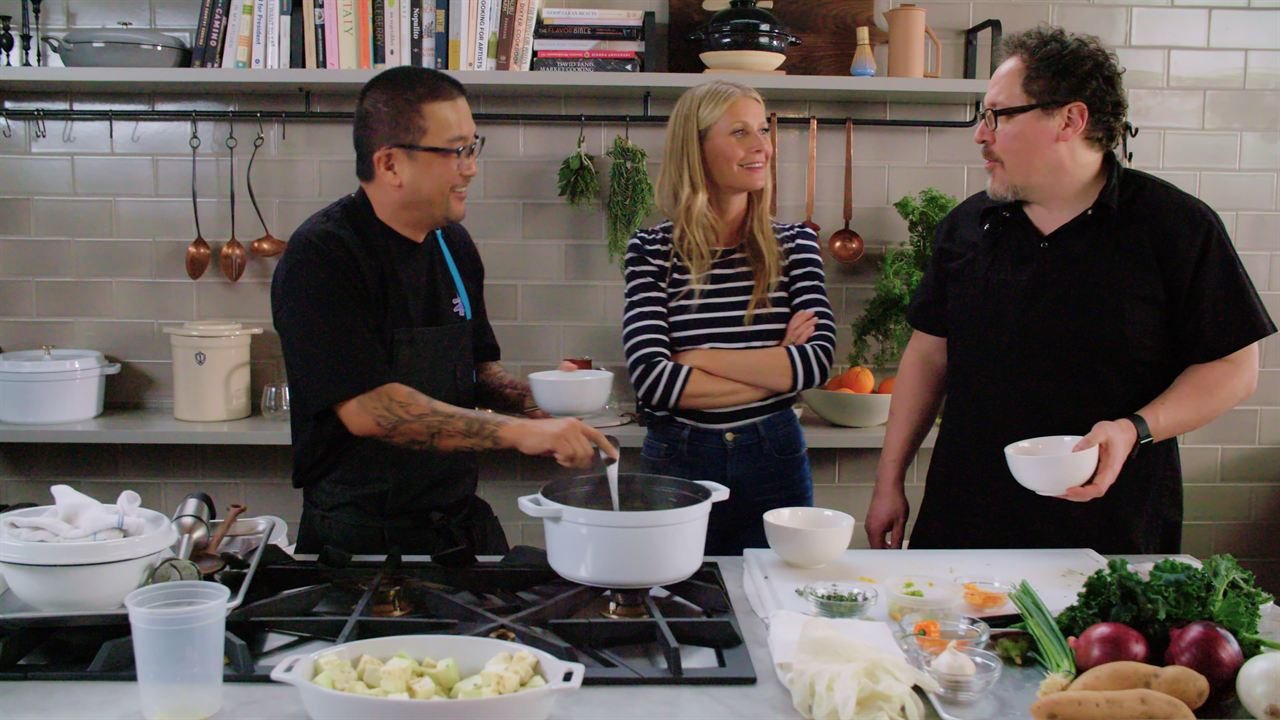 The Chef Show : Foto Gwyneth Paltrow, Jon Favreau, Roy Choi