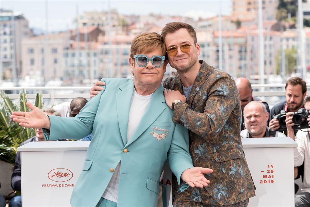 Rocketman : Vignette (magazine) Elton John, Taron Egerton