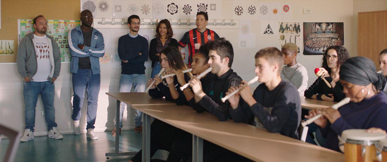 La Vie scolaire : Foto Alban Ivanov, Moussa Mansaly, Soufiane Guerrab, Zita Hanrot