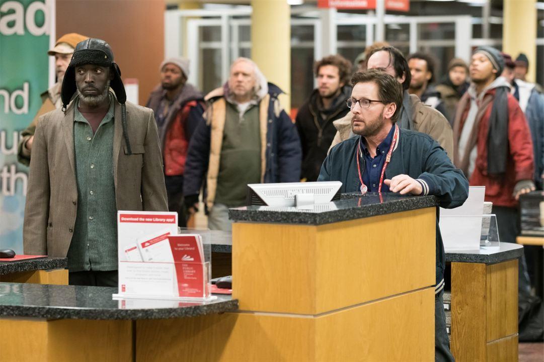 The Public : Foto Emilio Estevez, Michael K. Williams