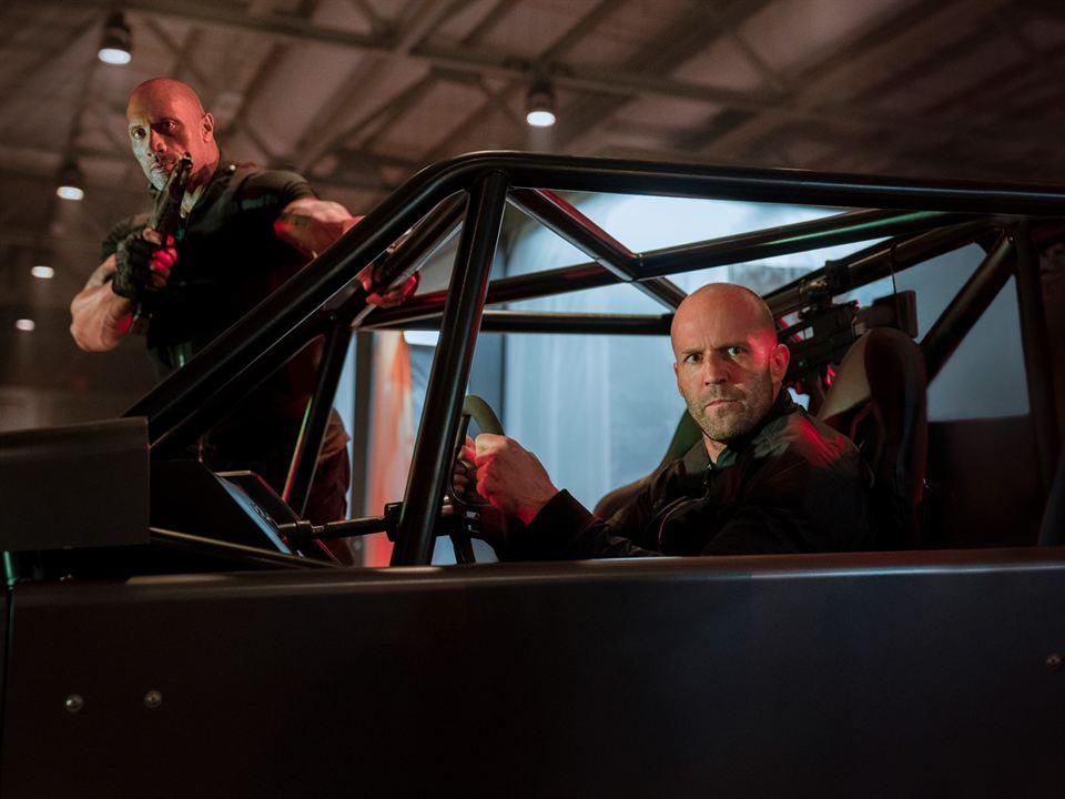 Velozes & Furiosos: Hobbs & Shaw : Foto Dwayne Johnson, Jason Statham