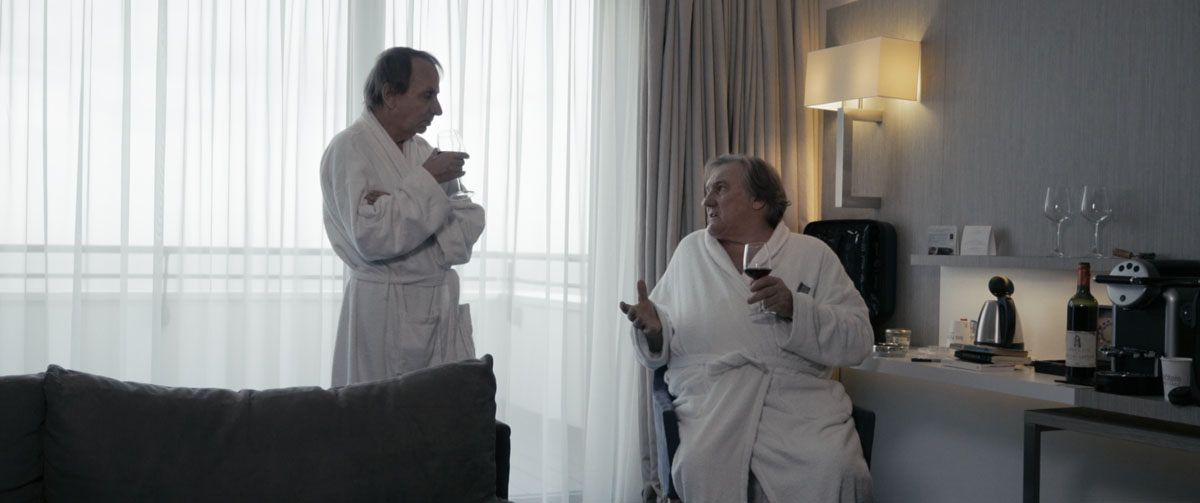 Thalasso : Foto Gérard Depardieu, Michel Houellebecq