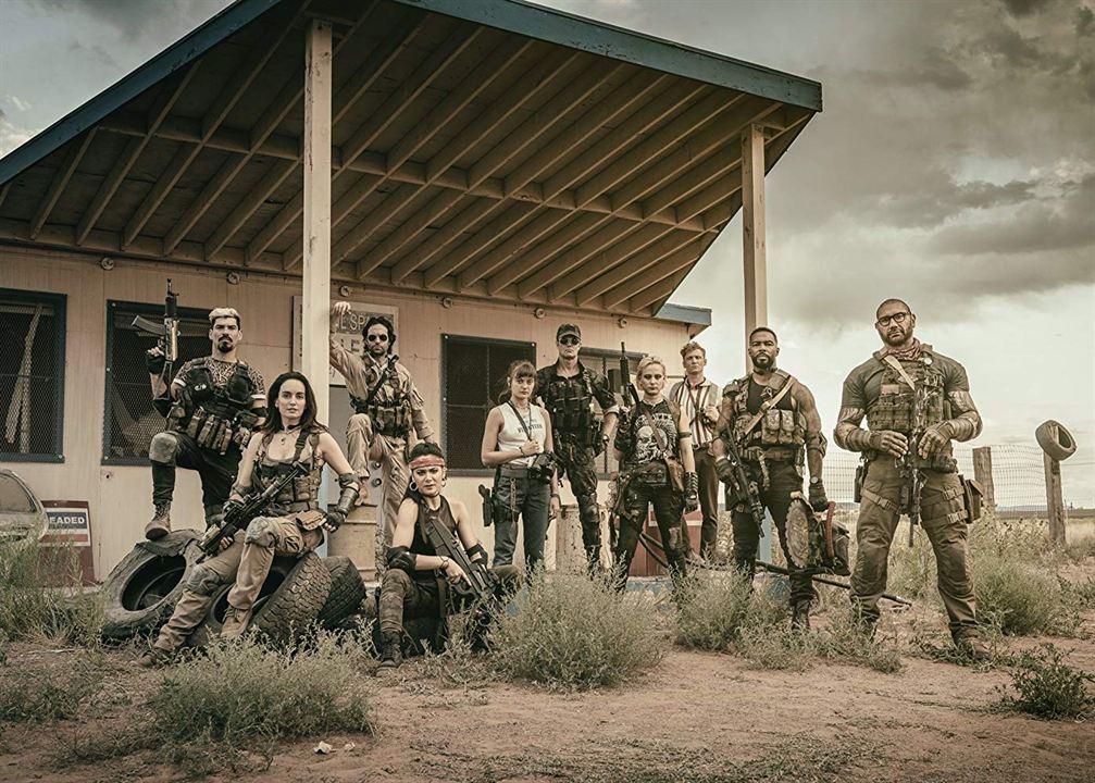 Army Of The Dead : Photo Dave Bautista, Ella Purnell, Garret Dillahunt, Raul Castillo, Samantha Win