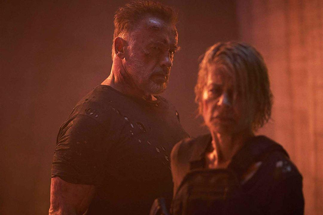 O Exterminador do Futuro: Destino Sombrio : Foto Arnold Schwarzenegger, Linda Hamilton