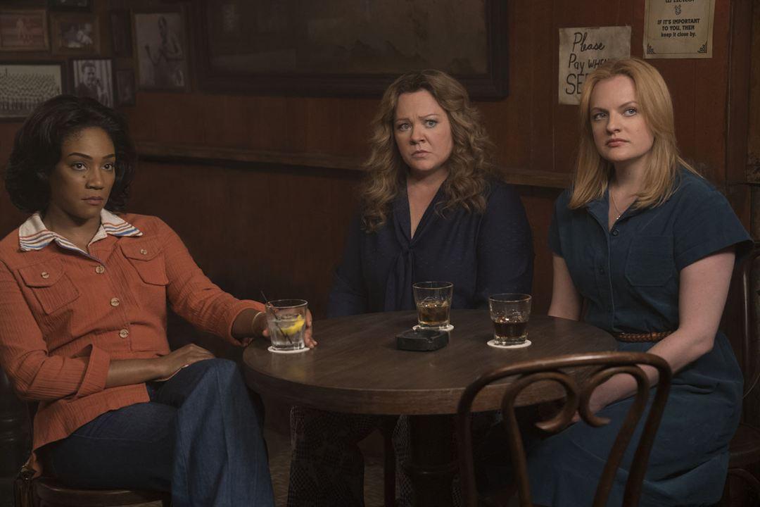 Rainhas do Crime : Foto Elisabeth Moss, Melissa McCarthy, Tiffany Haddish