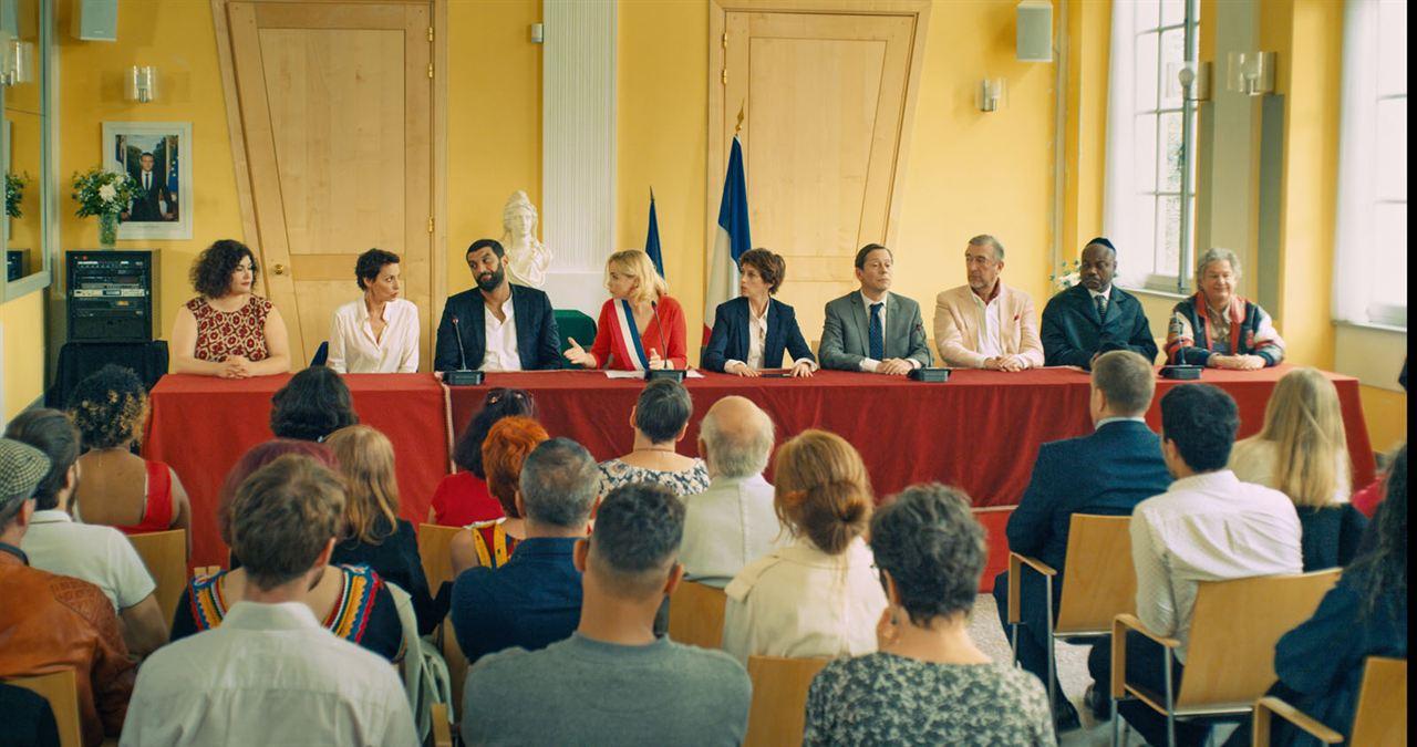 Foto Denis Mpunga, Emmanuelle Béart, Florence Loiret-Caille, Jeanne Balibar, Jean-Quentin Chatelain