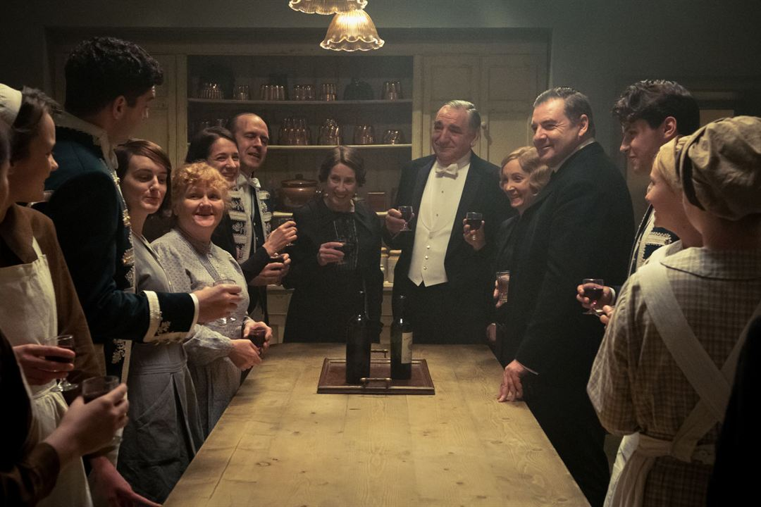 Downton Abbey - O Filme : Foto Jim Carter, Joanne Froggatt, Lesley Nicol, Sophie McShera